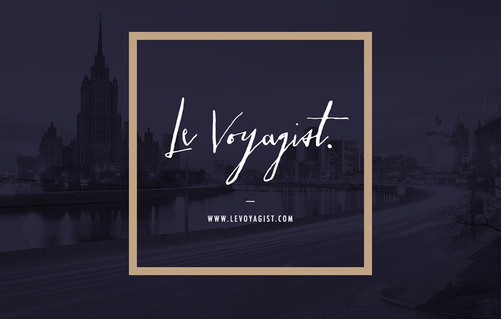 Le Voyagist's brand identity - Reed